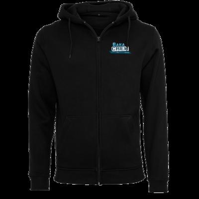 Motiv: Heavy Zip-Hoodie - BakaCrew Logo mit Claim