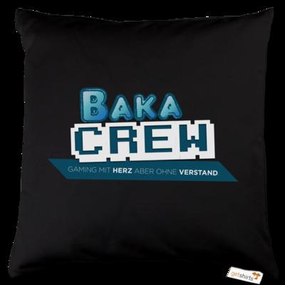 Motiv: Kissen Baumwolle - BakaCrew Logo mit Claim