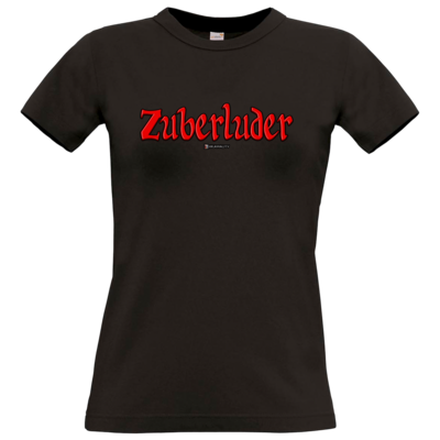 Motiv: T-Shirt Damen Premium FAIR WEAR - Zuberluder