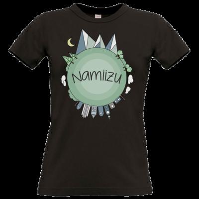 Motiv: T-Shirt Damen Premium FAIR WEAR - Butterfull World