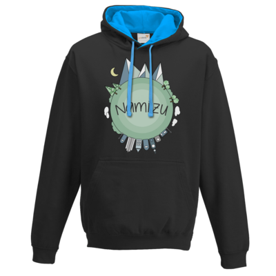 Motiv: Two-Tone Hoodie - Butterfull World
