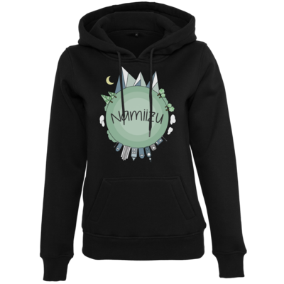 Motiv: Womens Heavy Hoody - Butterfull World