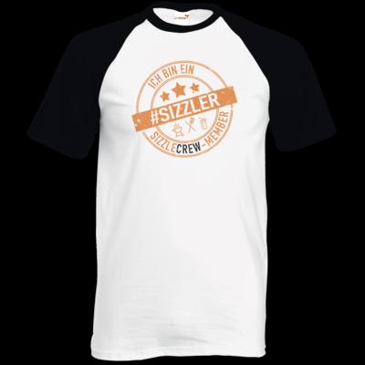 Motiv: TShirt Baseball - sizzler_3_dunkel