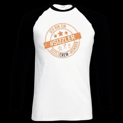 Motiv: Longsleeve Baseball T - sizzler_3_dunkel