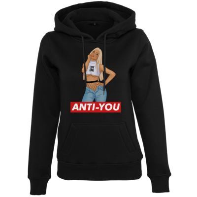 Motiv: Womens Heavy Hoody - Anti-You (Erna)