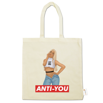 Motiv: Baumwolltasche - Anti-You (Erna)
