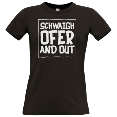 Motiv: T-Shirt Damen Premium FAIR WEAR - Schwaighofer and out