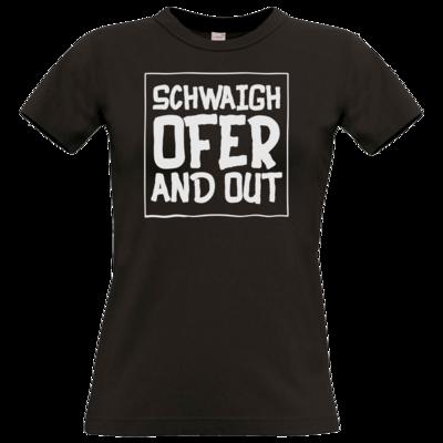 Motiv: T-Shirt Damen Premium FAIR WEAR - Schwaighofer and out