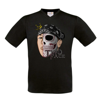 Motiv: T-Shirt V-Neck FAIR WEAR - Logo