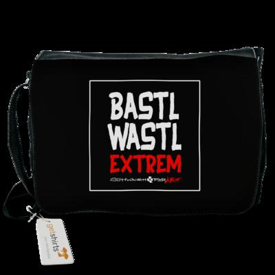 Motiv: Schultertasche - Bastlwastl extrem