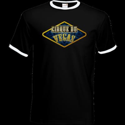 Motiv: T-Shirt Ringer - Cirque du Vegas