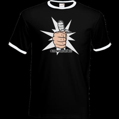 Motiv: T-Shirt Ringer - #heimwerkerkönig