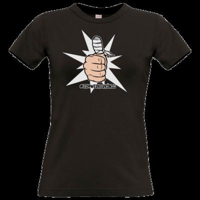 Motiv: T-Shirt Damen Premium FAIR WEAR - #heimwerkerkönig