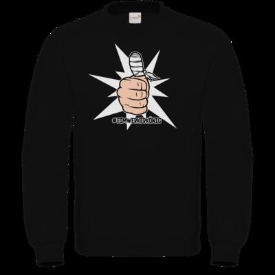 Motiv: Sweatshirt FAIR WEAR - #heimwerkerkönig
