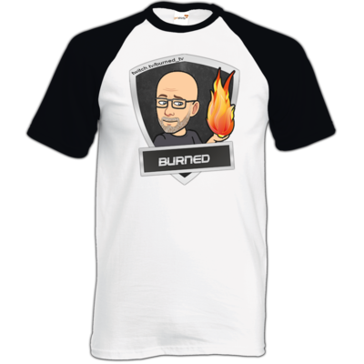 Motiv: TShirt Baseball - BurnedLogo