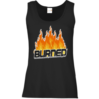 Motiv: Tank Top Damen Classic - Burned Flames