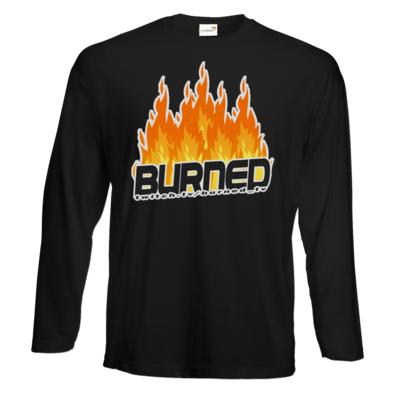 Motiv: Exact 190 Longsleeve FAIR WEAR - Burned Flames