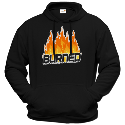 Motiv: Hoodie Premium FAIR WEAR - Burned Flames