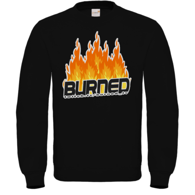 Motiv: Sweatshirt FAIR WEAR - Burned Flames