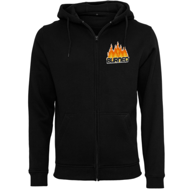 Motiv: Heavy Zip-Hoodie - Burned Flames