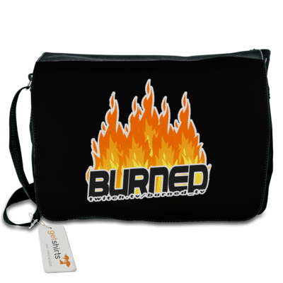 Motiv: Schultertasche - Burned Flames