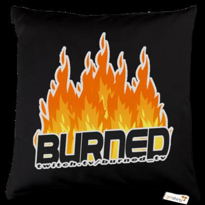 Motiv: Kissen Baumwolle - Burned Flames