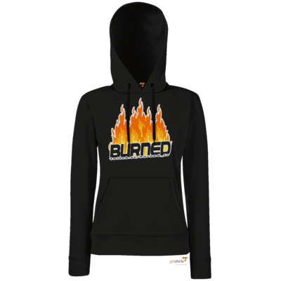 Motiv: Hoodie Damen Classic - Burned Flames
