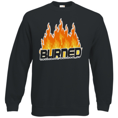 Motiv: Sweatshirt Classic - Burned Flames