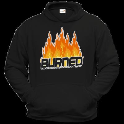 Motiv: Hoodie Classic - Burned Flames