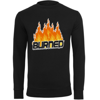 Motiv: Light Crew Sweatshirt - Burned Flames