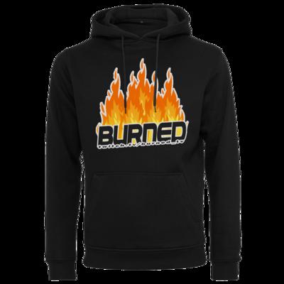 Motiv: Heavy Hoodie - Burned Flames