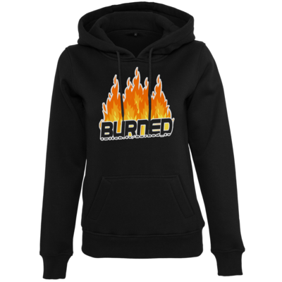 Motiv: Womens Heavy Hoody - Burned Flames
