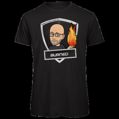Motiv: Organic T-Shirt - BurnedLogo