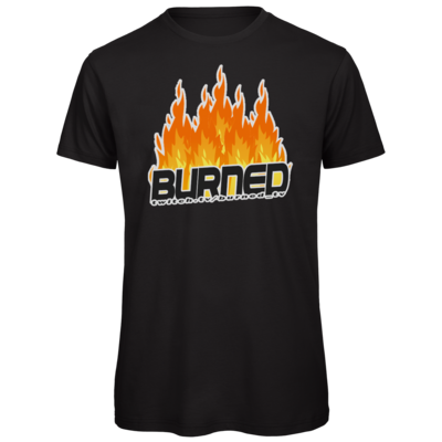 Motiv: Organic T-Shirt - Burned Flames