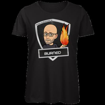 Motiv: Organic Lady T-Shirt - BurnedLogo