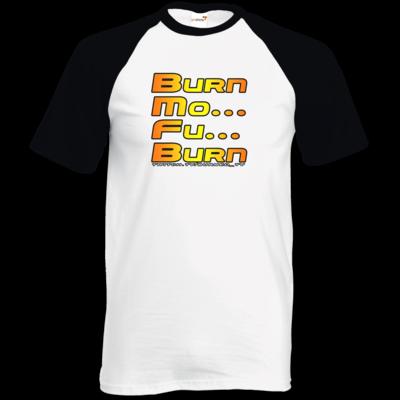 Motiv: TShirt Baseball - BurnMoFu