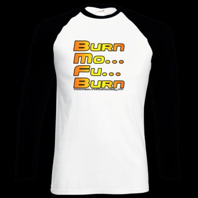 Motiv: Longsleeve Baseball T - BurnMoFu