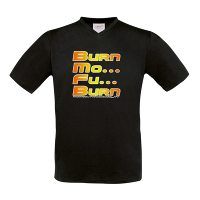 Motiv: T-Shirt V-Neck FAIR WEAR - BurnMoFu