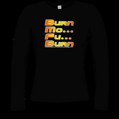 Motiv: Longsleeve Damen Organic - BurnMoFu