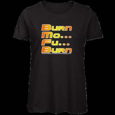 Motiv: Organic Lady T-Shirt - BurnMoFu