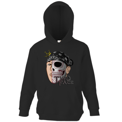Motiv: Kids Hooded Sweat - Logo weißer