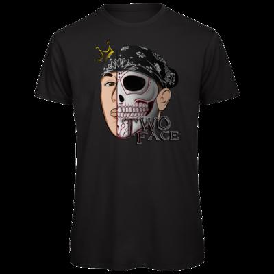 Motiv: Organic T-Shirt - Logo weißer