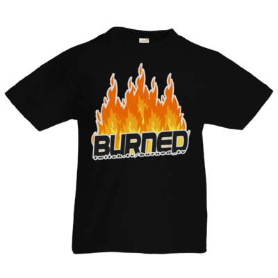 Motiv: Kids T-Shirt Premium FAIR WEAR - Burned Flames