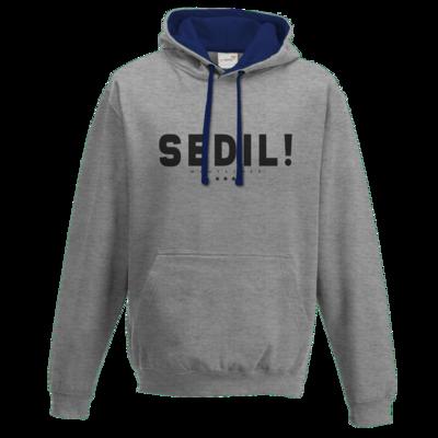 Motiv: Two-Tone Hoodie - Sedil!