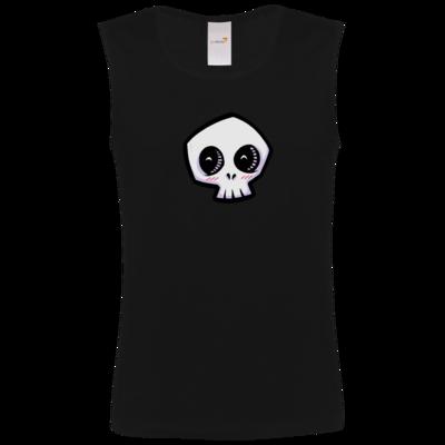 Motiv: Athletic Vest FAIR WEAR - scrumpy - happy skull