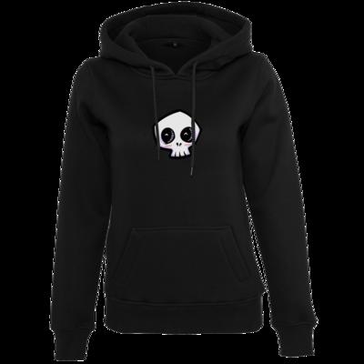 Motiv: Womens Heavy Hoody - scrumpy - happy skull