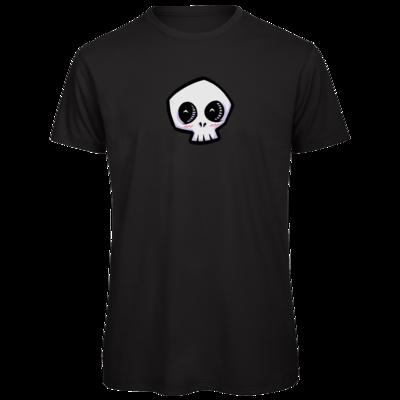 Motiv: Organic T-Shirt - scrumpy - happy skull
