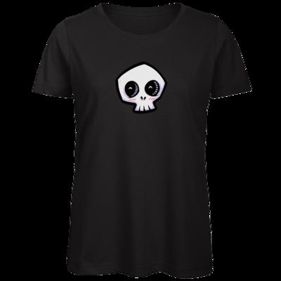Motiv: Organic Lady T-Shirt - scrumpy - happy skull