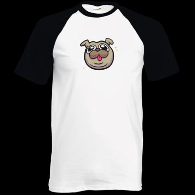 Motiv: TShirt Baseball - fritzi - cute pug