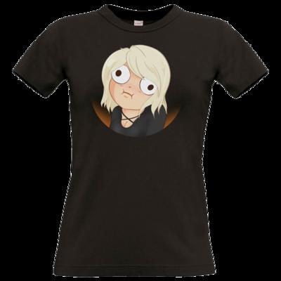 Motiv: T-Shirt Damen Premium FAIR WEAR - Derp